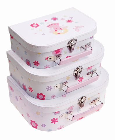 Set of 3 Suitcases - Fairy
