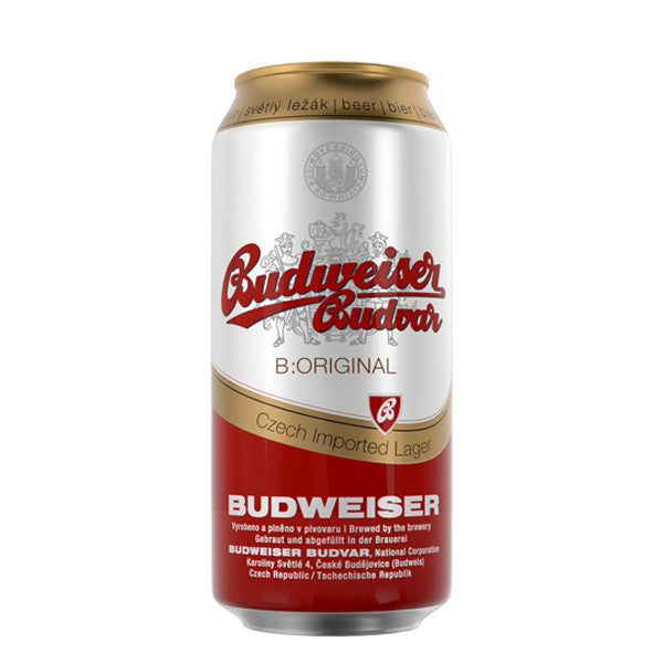 Budweiser Budvar B:Original Lattina Six Pack
