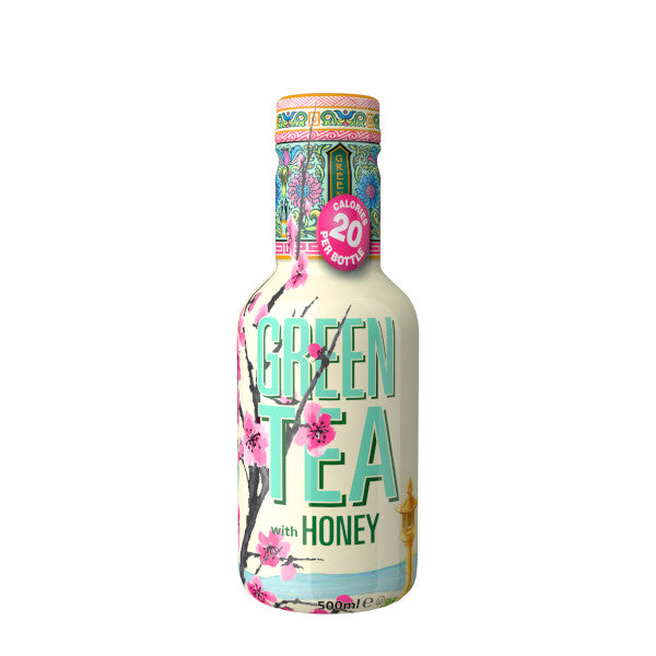 Arizona Green Tea 500ml Pet Low Calories