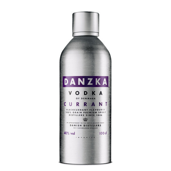 Vodka Danzka Currant 40° Cl.100 12/1