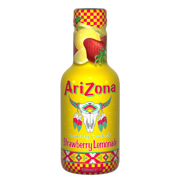 Arizona Cowboy C. Strawberry Lemonade 500ml Pet