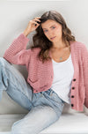 Atlantic Cardi - Rose **Restock end of May