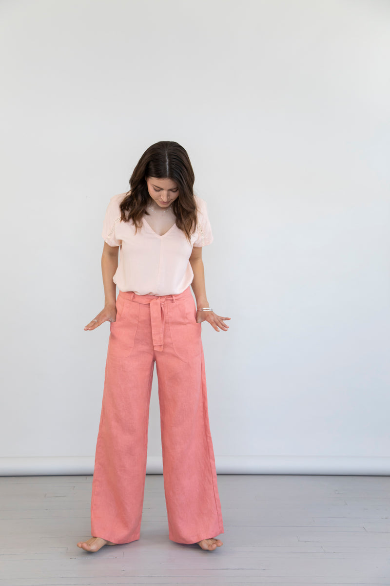Vogue Pants - Terracotta