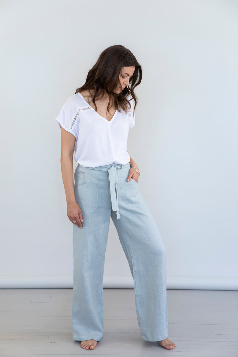 Vogue Pants - Aquamarine