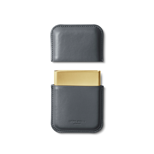 Georg Jensen Rohner Business Card Holder, Shade Series 喬治傑生 陰影系列 皮革 名片盒