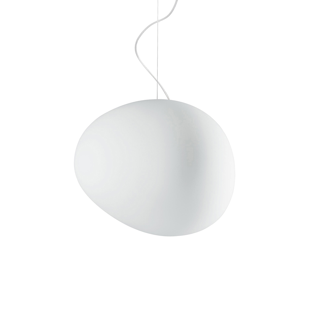 Foscarini Gregg Suspension Lamp in Large 47cm 重生 霧白玻璃 吊燈 大尺寸