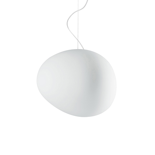Foscarini Gregg Suspension Lamp in Large 重生 霧白玻璃 吊燈 大尺寸