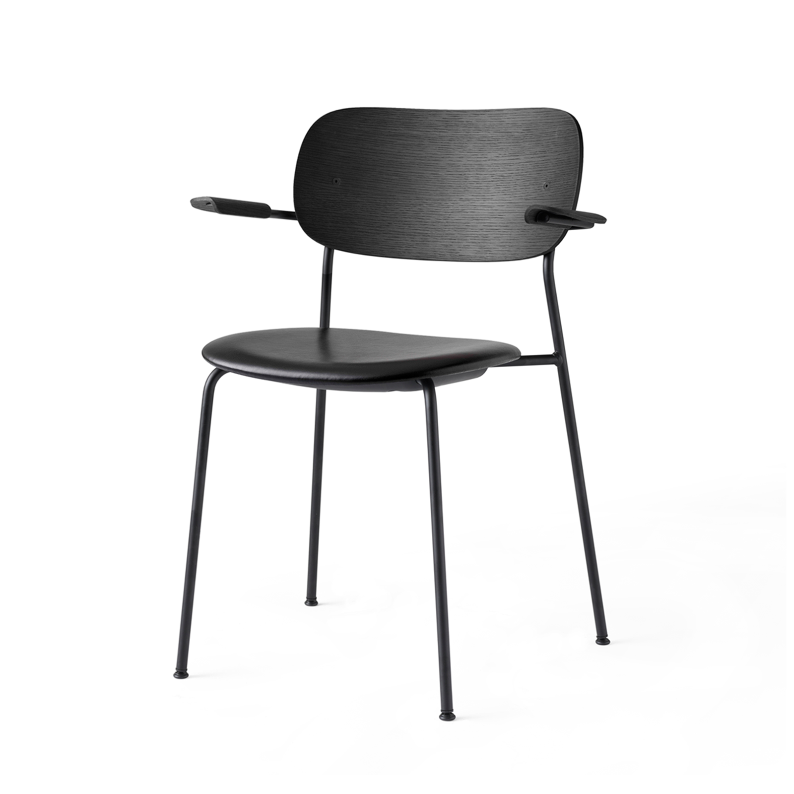 Menu Co Armchair Chair with Leather Seat 柯爾系列 扶手椅 - 皮革坐墊