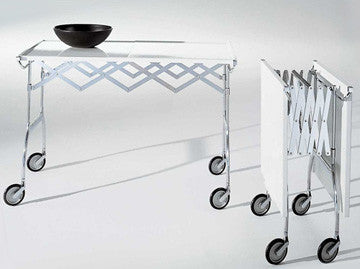 Kartell Battista Foldable Table 鋸齒 折疊桌 / 推車