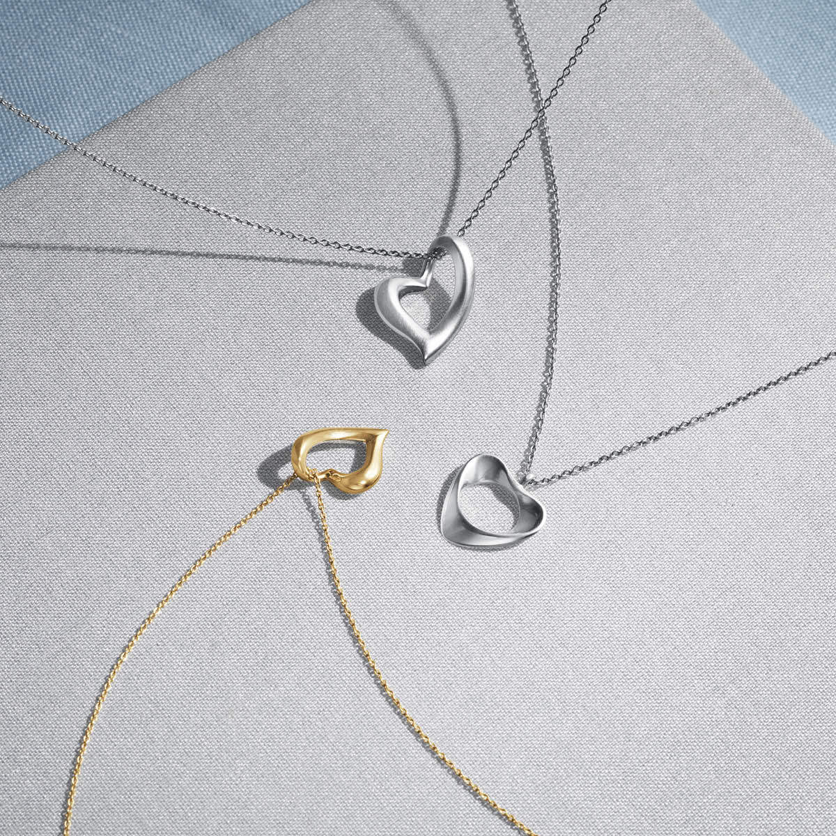 Georg Jensen Jewellery Hearts of Georg Jensen 994E 喬治傑生 心型系列, 真愛之心 K金項鍊