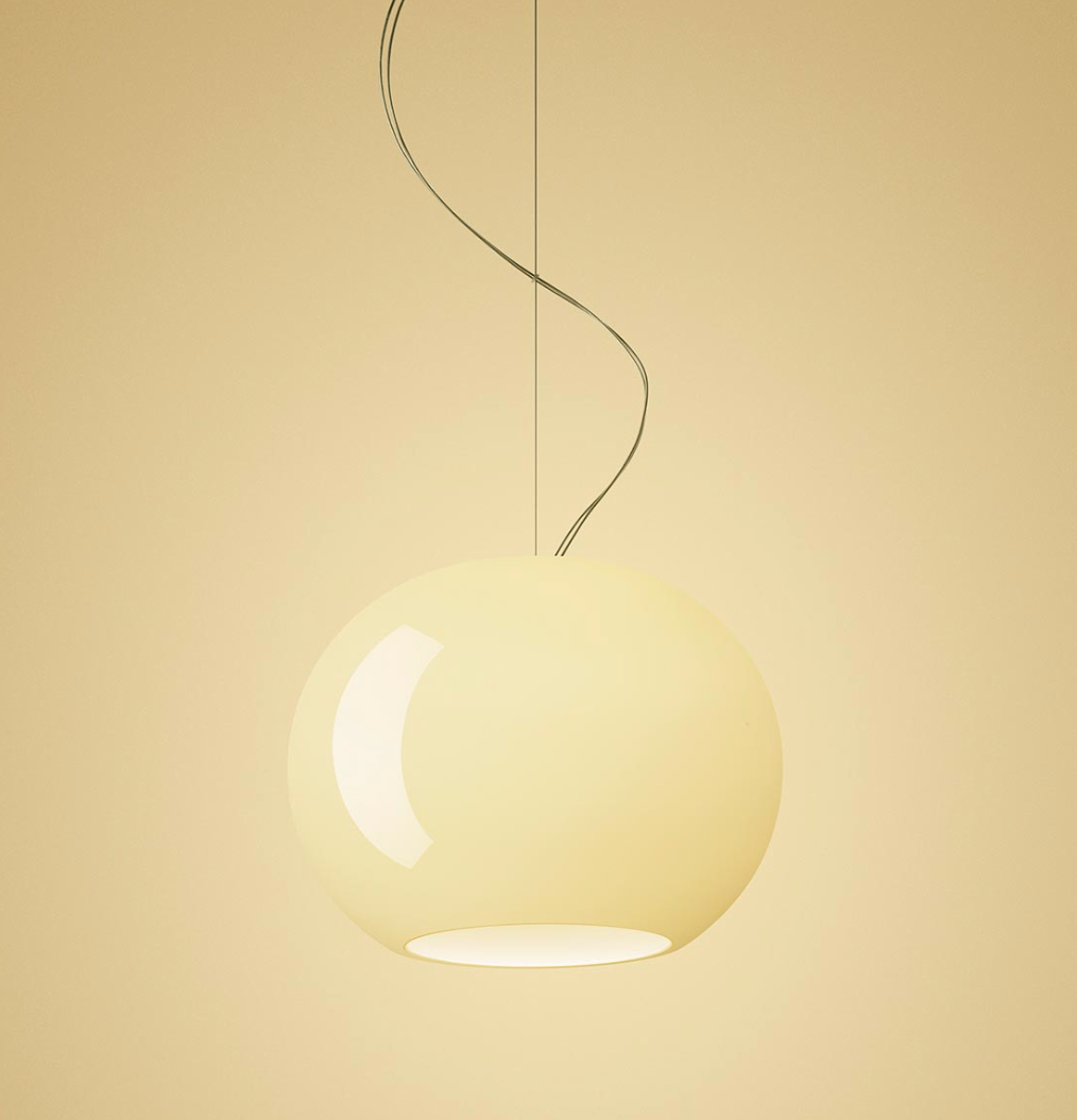 Foscarini Buds 3 Suspension Lamp 30cm 圓弧 亮澤玻璃 吊燈 型號 3