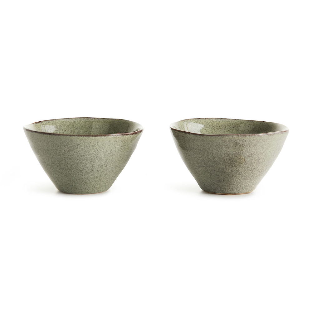 Sagaform Nature Small Serving Bowl 14cm 2pcs Nature 大自然系列 瓷釉彩 個人餐碗 兩件組