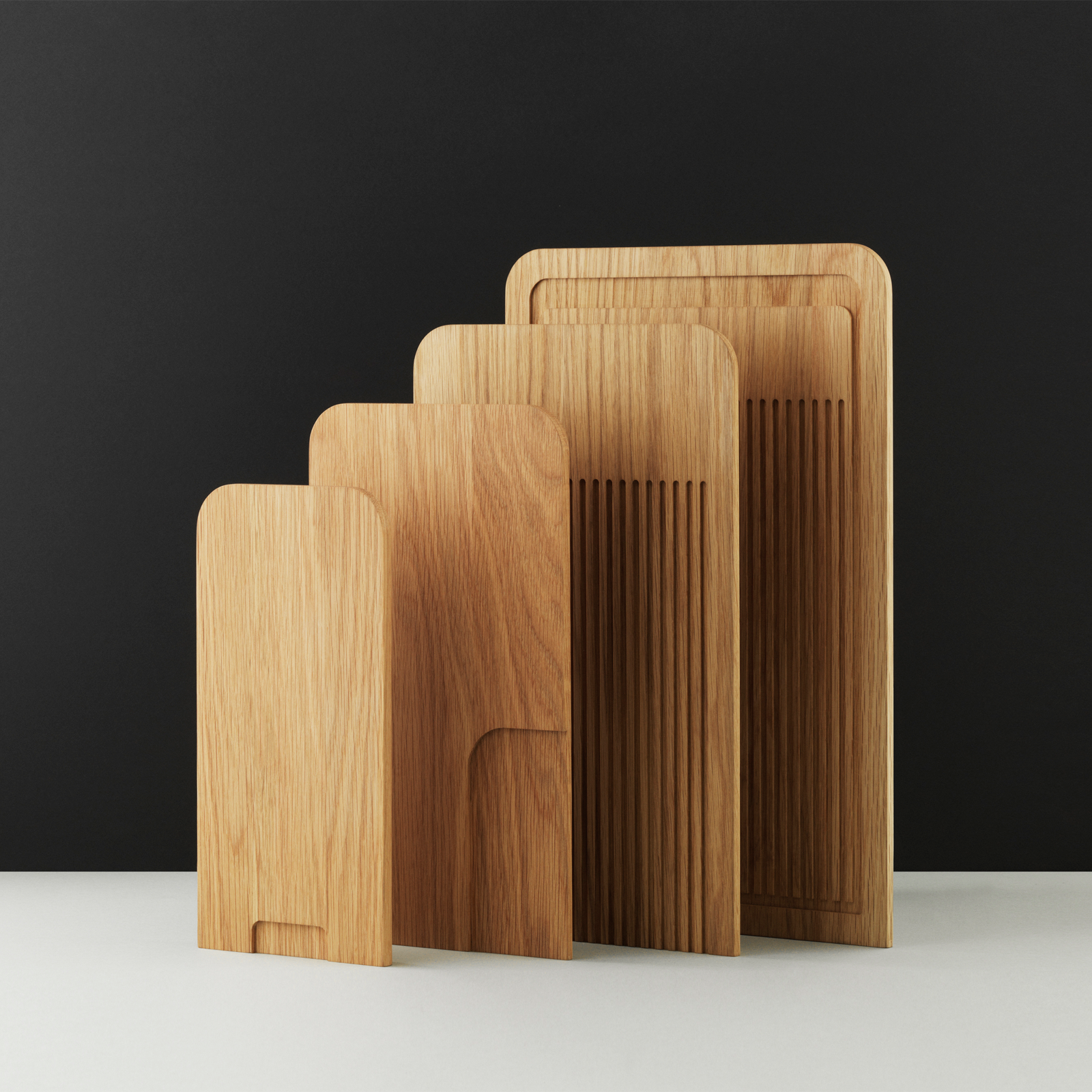 Normann Copenhagen Part Cutting Board Veggie 35x20cm 部落系列 橡木 蔬食砧板