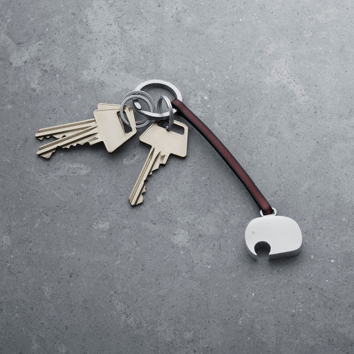 Georg Jensen Elephant Leather Keyring 喬治傑生 大象 皮繩鑰匙圈