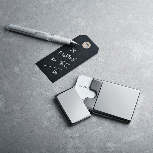 Georg Jensen Cube Pocket Cardholder CW Office 系列, 喬治傑生 方形 名片盒