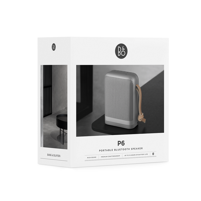 B&O PLAY Beoplay Bluetooth Speaker P6 攜帶型 無線藍芽音響