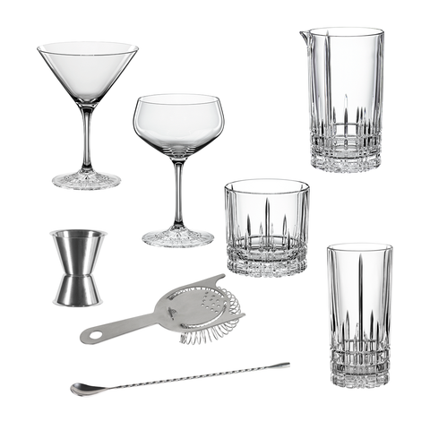Spiegelau Perfect Serve Collection Cocktail Set 12pcs, 美好服務系列 調酒組合 12 件式禮盒