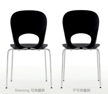 Kristalia Pikaia Stacking Chair 幻妙 可堆疊 弧背椅