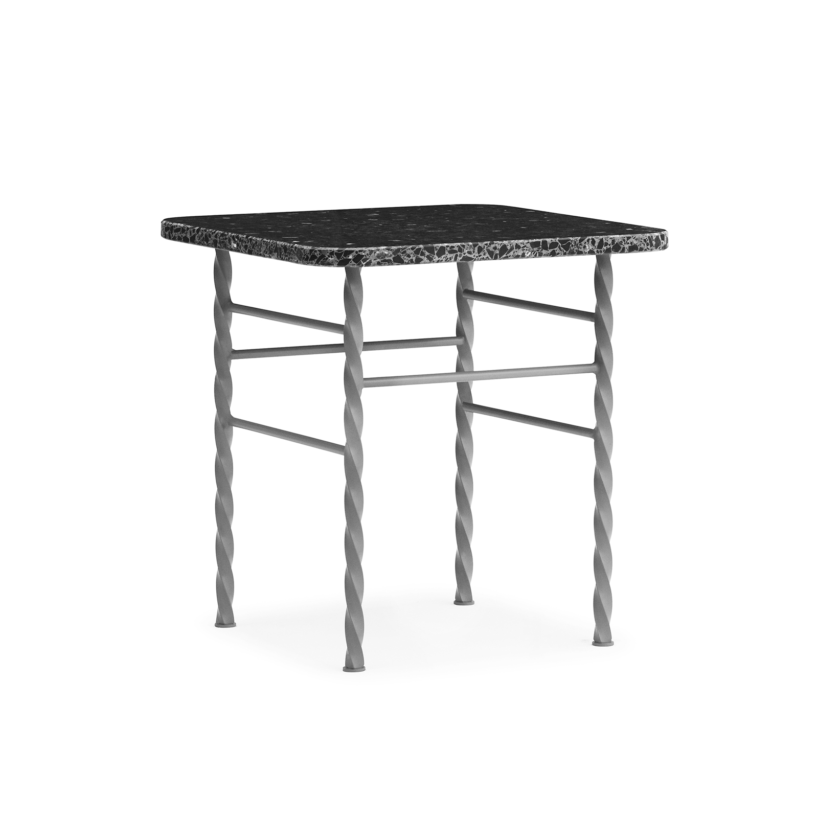 Normann Copenhagen Terra Table in Small 40x40cm 磨石子系列 方形 邊桌 小尺寸