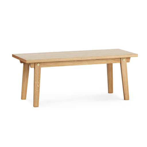 Normann Copenhagen Slice Coffee Table vol.2 100x42cm 切分系列 木質 長形 茶几 / 咖啡桌