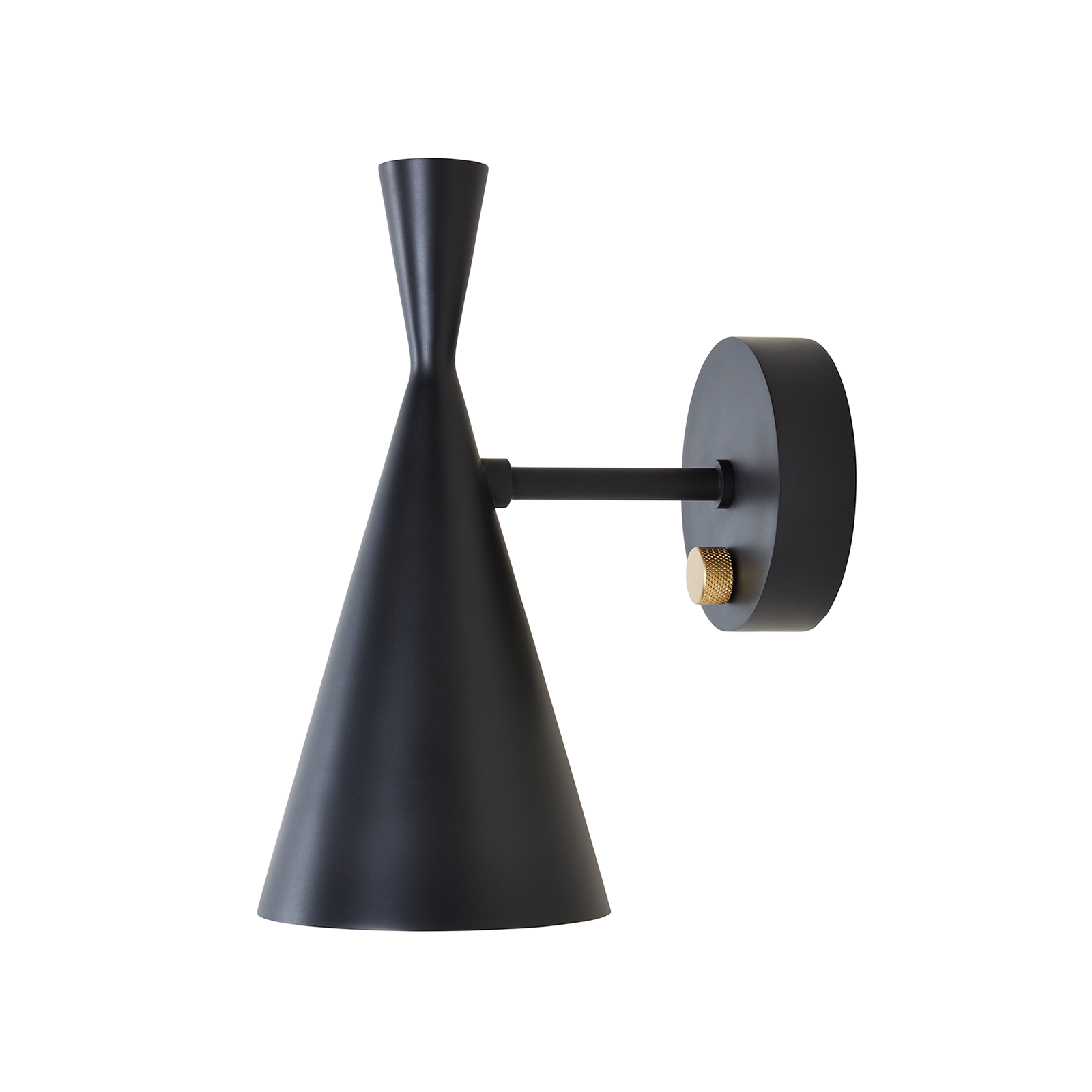 Tom Dixon Beat Black Wall Light Series 黑澤系列 金屬 壁燈