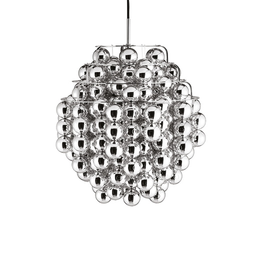 Verpan Ball Suspension Lamp 44cm 銀色葡萄 四環 吊燈