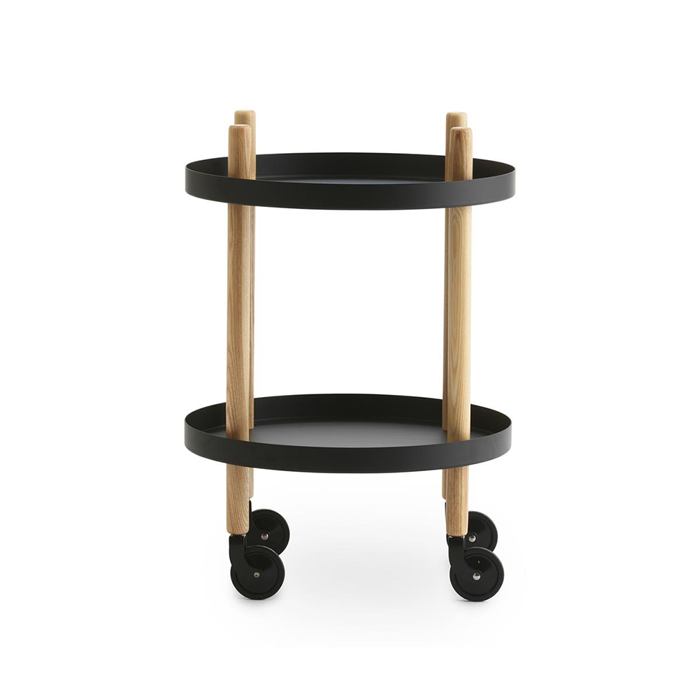 Normann Copenhagen Block Round Trolley Table 布拉格 圓桌 收納推車 / 活動邊桌