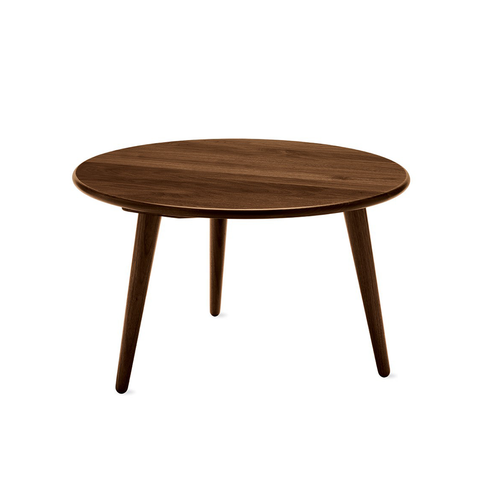 Carl Hansen & Son CH 008 Coffee Round Table Walnut with Oil Finish 圓形 實木 咖啡桌 / 茶几 - 胡桃木 油裝處理