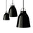 Lightyears Caravaggio Black Black Suspension Lamp P0, P1, P2 卡拉瓦喬 小型吊燈 黑色吊線款