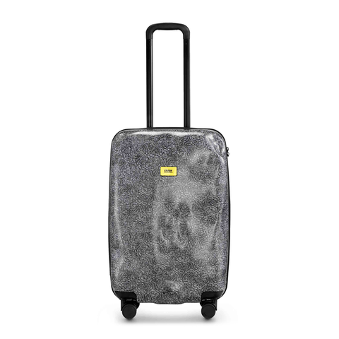Crash Baggage Medium Trolley with 4 Wheels, Surface Collection 羽緞圖騰系列 衝擊 行李箱 中尺寸 25 吋