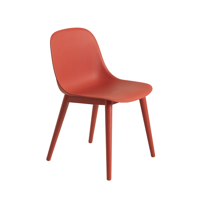 Muuto Fiber Side Chair with Wood Base 木纖系列 北歐風 餐椅 / 單椅 - 木質椅腳款