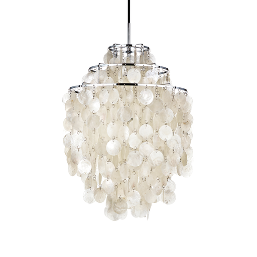 Verpan Fun 1DM Suspension Lamp 珍珠母貝 三環吊燈