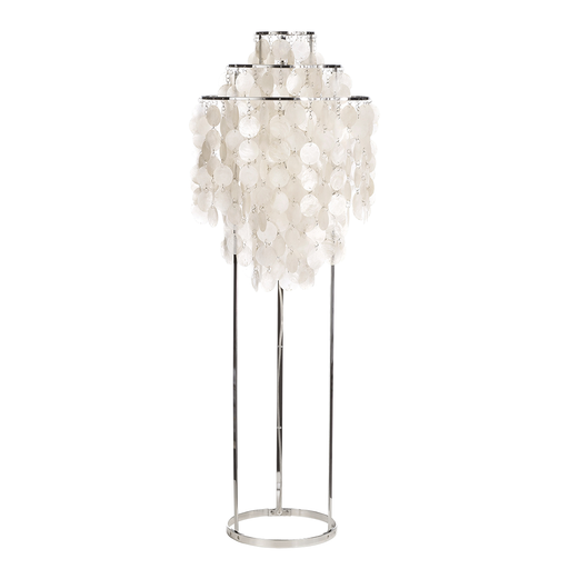 Verpan Fun 1STM Floor Lamp 珍珠母貝 三環立燈