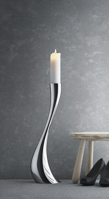 Georg Jensen Cobra Floor Candleholder Large 喬治傑生 婀娜 落地燭台 大尺寸