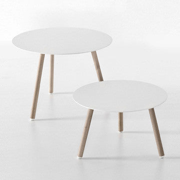 Kristalia BCN Round Table H45cm 櫸木腳 圓形邊桌