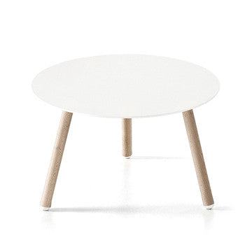 Kristalia BCN Round Table H33cm 櫸木腳 圓形茶几