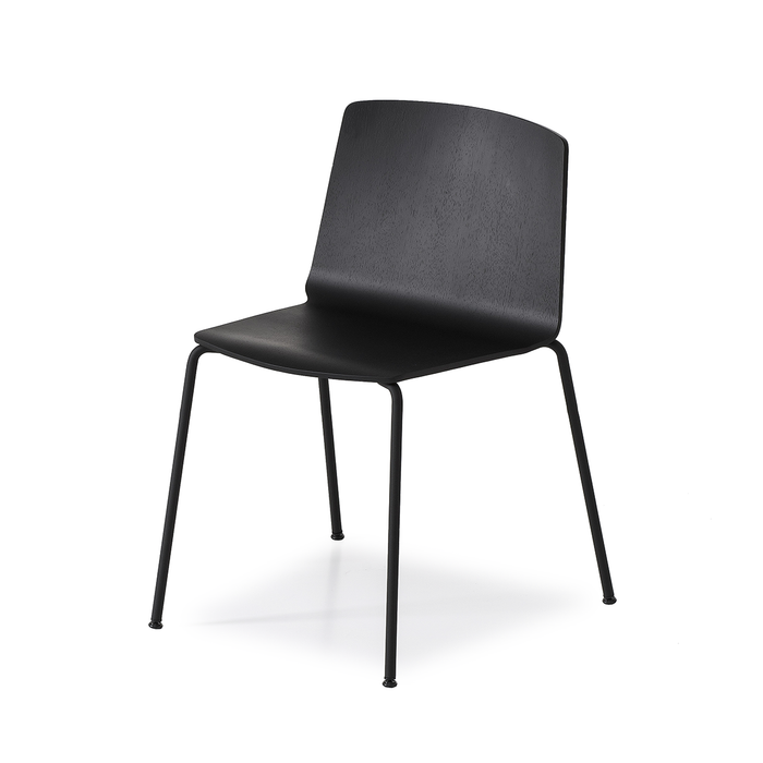 Kristalia Rama Four Legs Stackable Chair 拉瑪 單椅 金屬椅腳