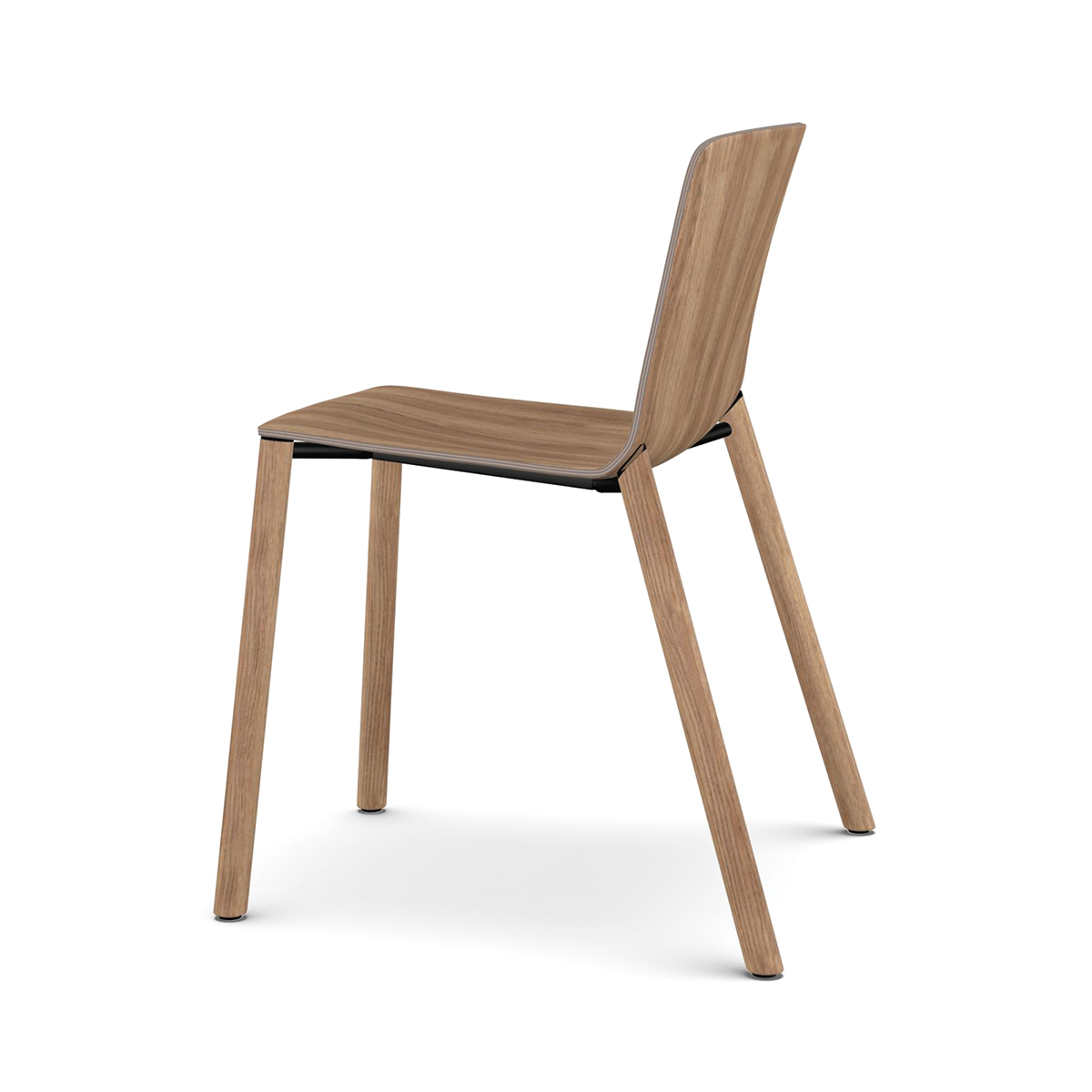 Kristalia Rama Four Wood Legs Chair 拉瑪 木質 單椅