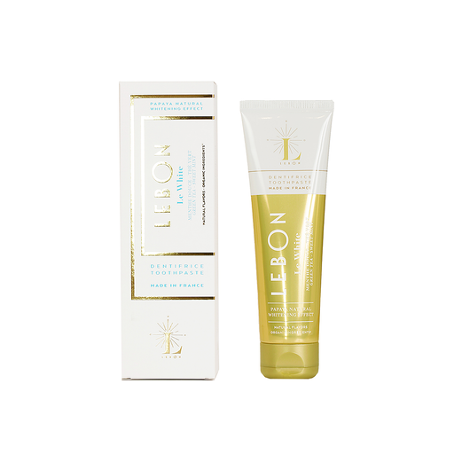 Lebon Mint Toothpaste Natural Whitening 75ml 白色 綠茶 天然薄荷牙膏