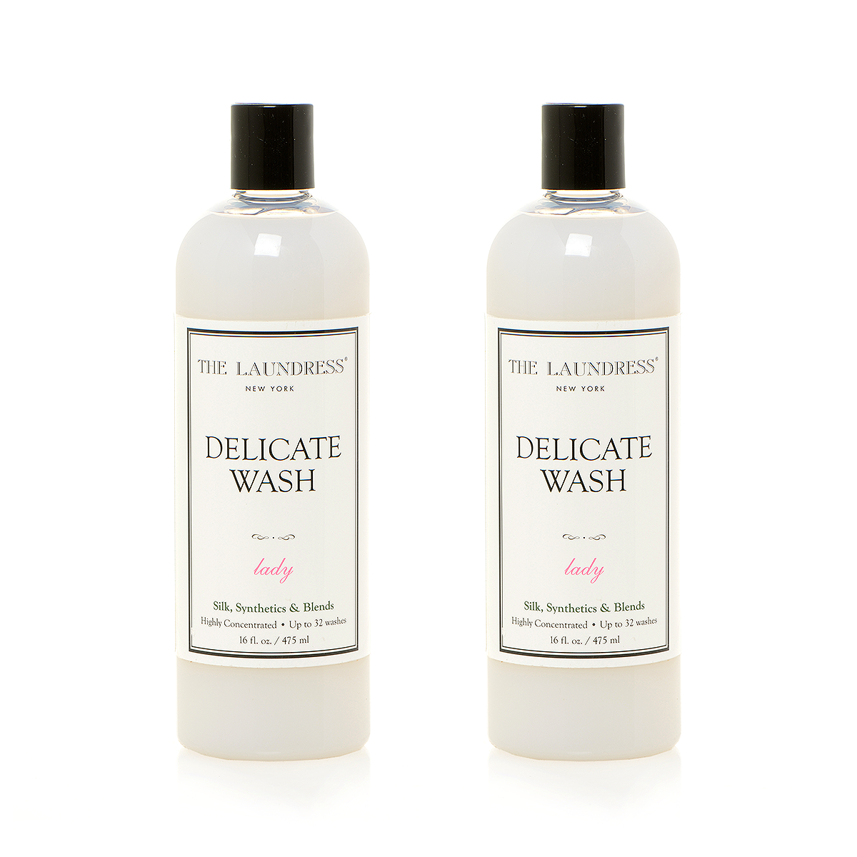The Laundress Laundry Detergent, Delicate Wash Lady 475ml 衣物清潔系列 精緻衣物洗衣精 兩瓶裝 套組