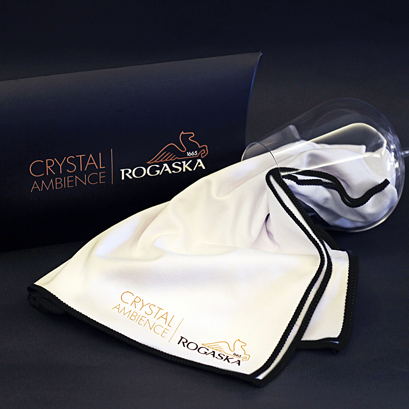 Rogaska Microfiber Cloth for Crystal Product 60x50cm 水晶專用 超細纖維 擦拭布