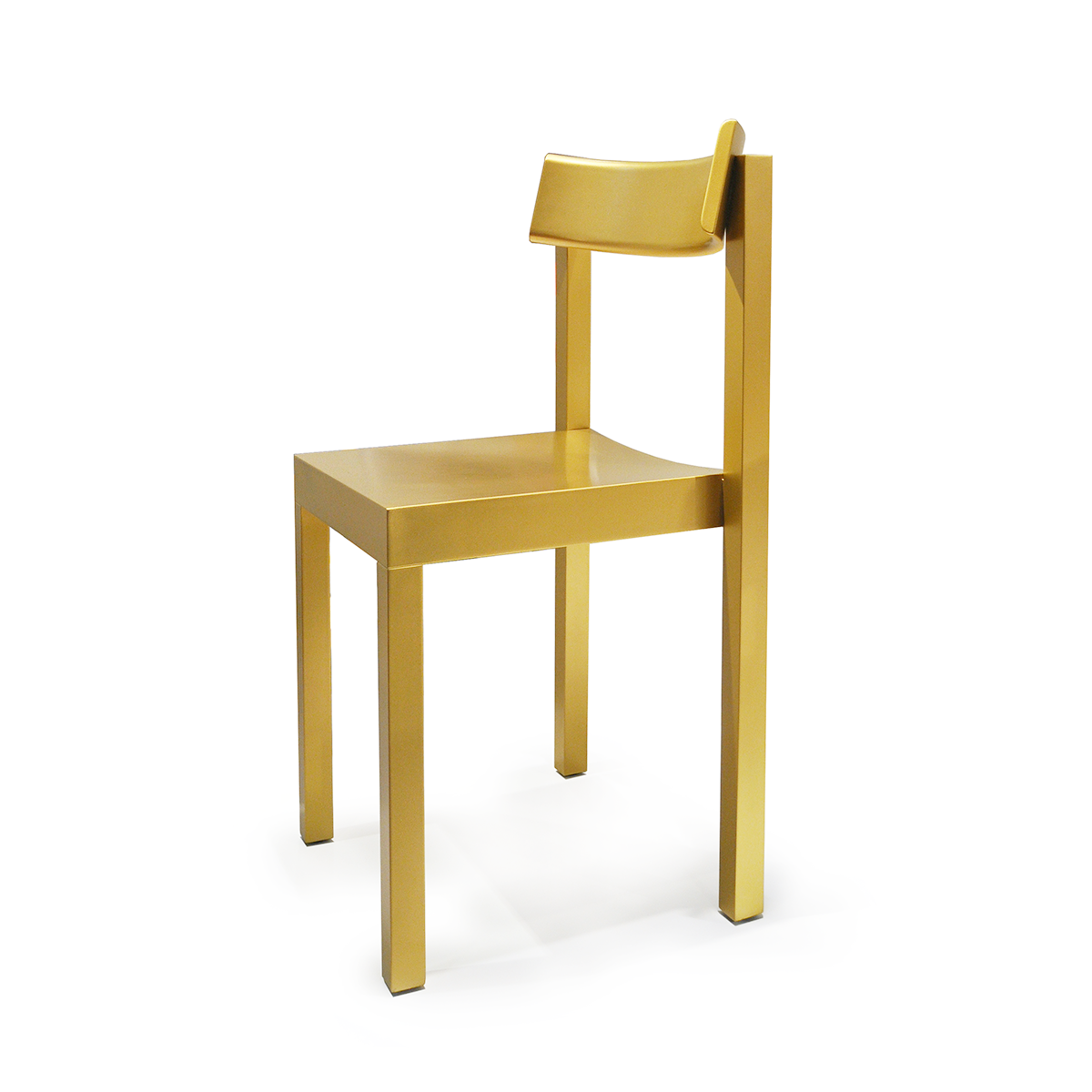 Mattiazzi MC14 Primo Wooden Dining Chair Special Edition in Gold 頂尖系列 實木 單椅 / 餐椅 - 金色特別版