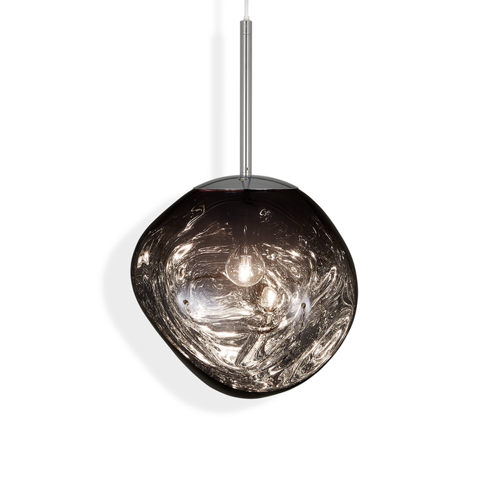 Tom Dixon Melt Mini Suspension Lamp in Smoke 30cm 熔岩 前衛 吊燈 小尺寸 - 煙熏色款