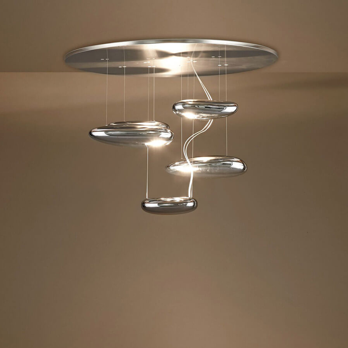 Artemide Mercury Mini Suspension Lamp 銀色水滴系列 吊燈