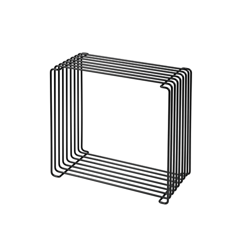 Montana Panton Wire Standard Shelf Unit / Side Table / Magazine Holder D20cm 潘頓系列 線條 方形壁櫃 - 淺版