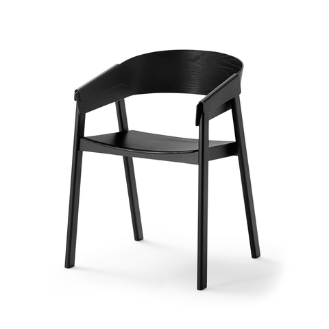 Muuto Cover Chair 擁抱 木質 扶手椅
