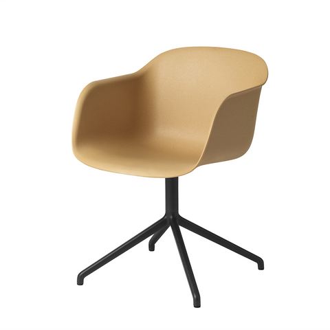 Muuto Fiber Armchair with Swivel Base 木纖 扶手椅 可旋轉椅腳