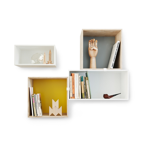 Muuto Mini Stacked Shelving System 迷你 方格 壁面收納櫃