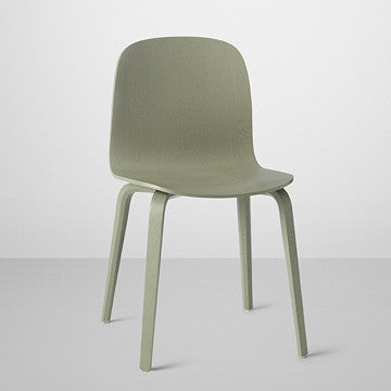 Muuto Visu Chair Wooden Base 薇蘇 木質 單椅