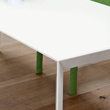 Kristalia Nori Pure-White Fixed Table 斜角 固定版 長桌 純白系列